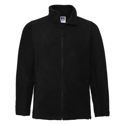 Full-zip outdoor fleece - Black - Russell