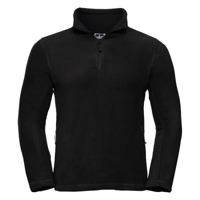 zip outdoor fleece - Black - Russell
