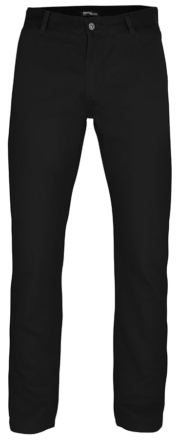 Men's chino - Black - Asquith & Fox