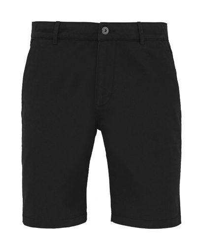 Men's chino shorts - Black - Asquith & Fox