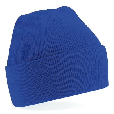 Junior original cuffed beanie - Bright Royal - Beechfield
