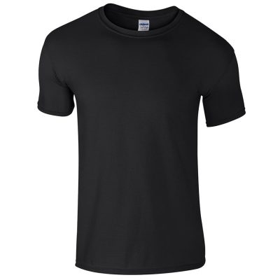 Softstyle youth ringspun t-shirt - Black - Gildan