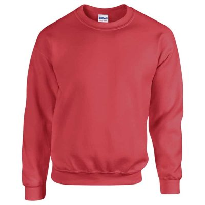 Heavy Blend adult crew neck sweatshirt - Antique Cherry Red - Gildan