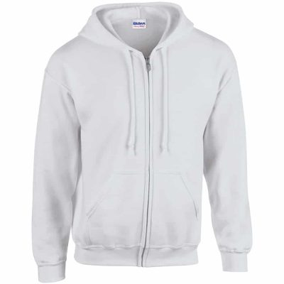 Heavy Blend  full zip hooded sweatshirt - Ash - Gildan