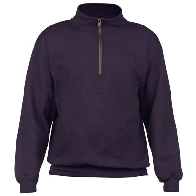 Heavy Blend cadet collar sweatshirt - Blackberry - Gildan