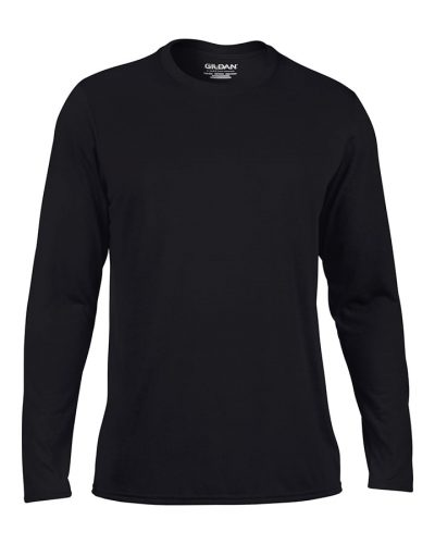 Gildan performance long sleeve t-shirt - Black - Gildan