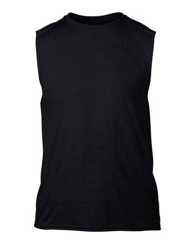 Gildan performance sleeveless t-shirt - Black - Gildan