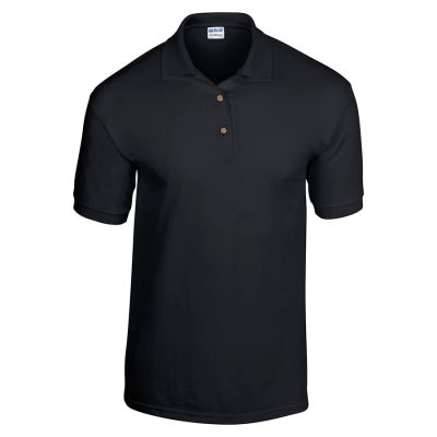 Kids DryBlend Jersey knit polo - Black - Gildan