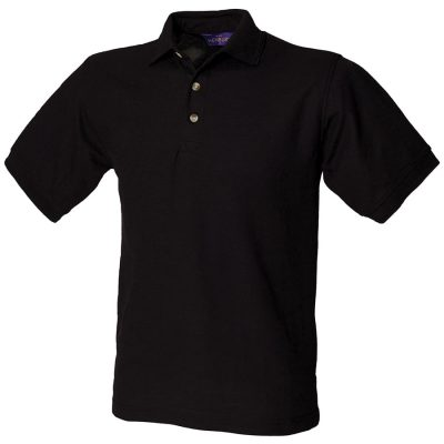 Ultimate 65/35 polo shirt - Black - Henbury