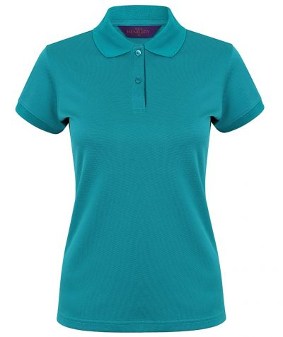Women's Coolplus polo shirt - Bright Jade - Henbury
