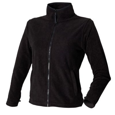 Women's microfleece jacket - Black - Henbury