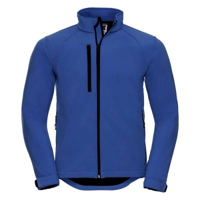 Softshell jacket - Azure Blue - Russell