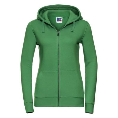 Women's authentic zipped hooded sweatshirt - Apple - Russell
