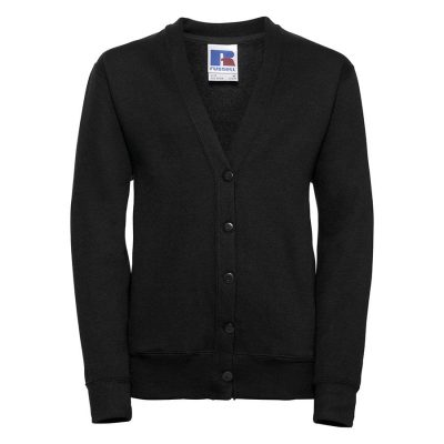 Kids cardigan - Black - Russell