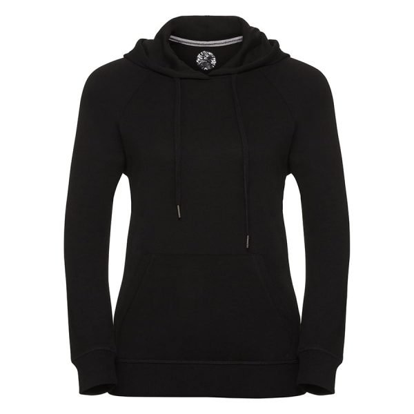 Women's HD hooded sweatshirt - Black - Russell