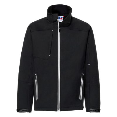 Bionic softshell jacket - Black - Russell