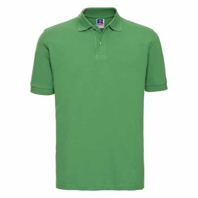 Classic cotton piqu polo - Apple - Russell