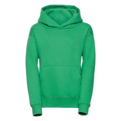 Kids hooded sweatshirt - Apple - Russell