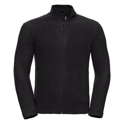 Full-zip microfleece - Black - Russell