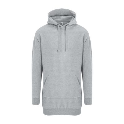 Hoodie dress - Heather Grey - AWDis Hoods