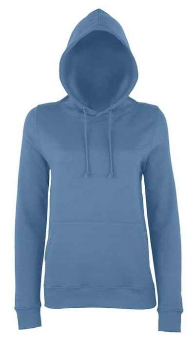 Girlie college hoodie - Airforce Blue - AWDis Hoods