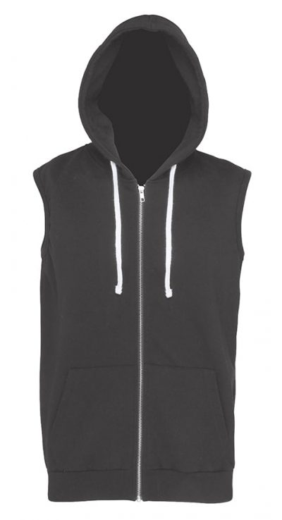 Sleeveless zoodie - Charcoal - AWDis Hoods