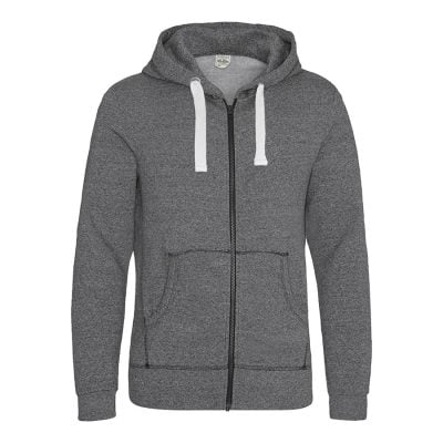 Space blend zoodie - Space Grey/White - AWDis Hoods