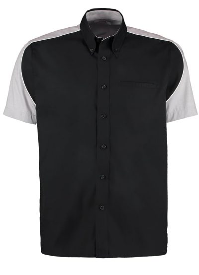 Sebring Formula Racing shirt short sleeve - Black/Silver/White - Formula Racing