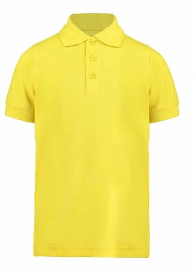 Klassic polo kids with Superwash 60C - Canary - Kustom Kit
