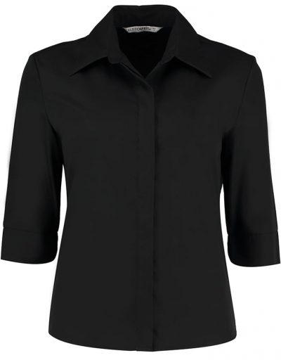 Women's continental blouse  sleeve - Black - Kustom Kit