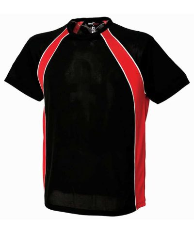Jersey team T - Black/Red/White - Finden & Hales