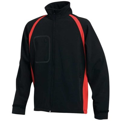 Team softshell - Black/Red - Finden & Hales