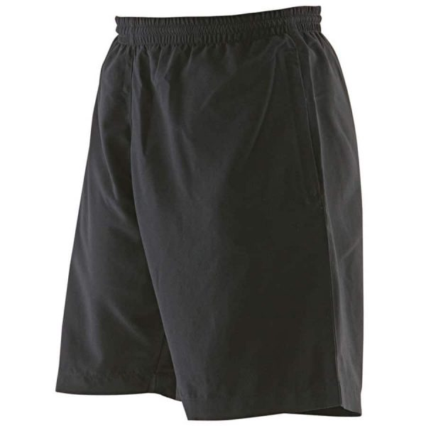 Women's microfibre short - Black - Finden & Hales
