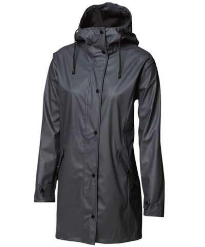 Women's Huntington fashion raincoat - Charcoal - Nimbus