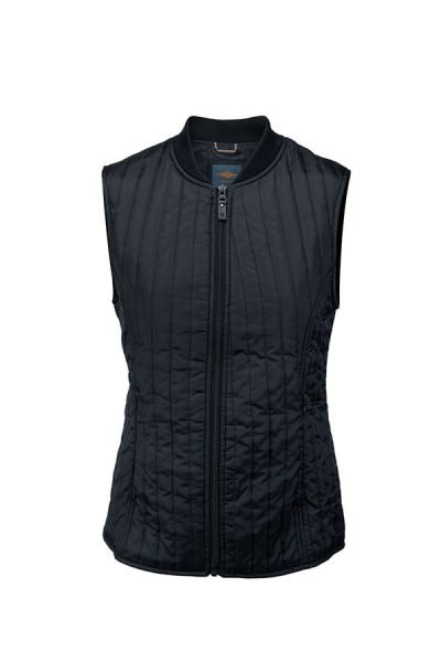 Women's Hudson urban city gilet - Dark Midnight Blue - Nimbus