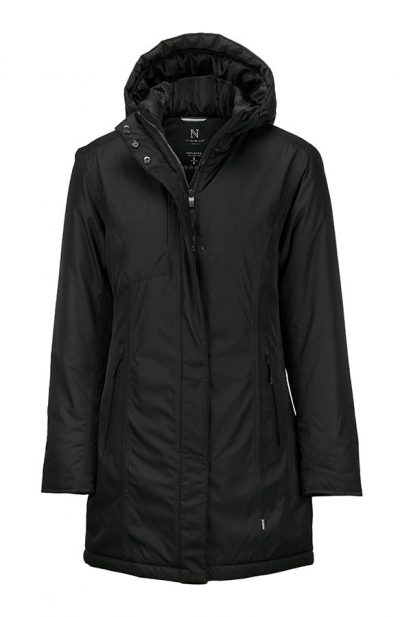 Women's Mapleton urban tech parka - Black - Nimbus