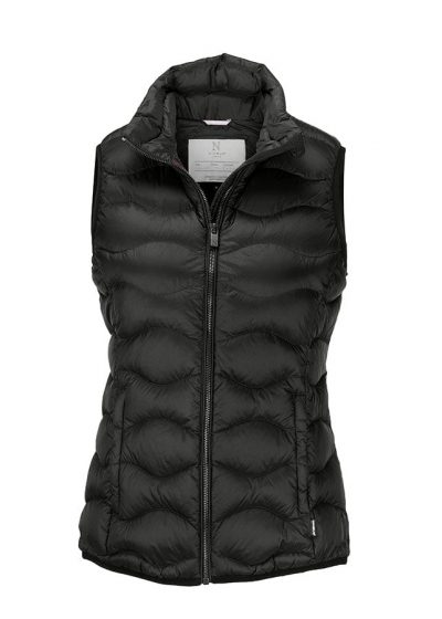 Woman's Vermont down gilet - Black - Nimbus