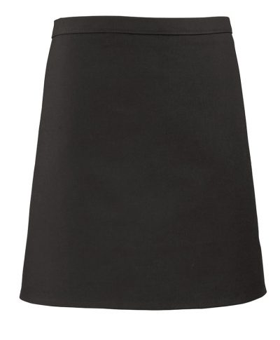 Short bar apron - Black - Premier