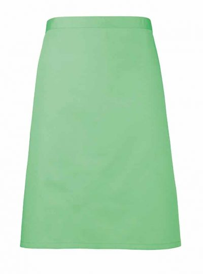 Mid-length apron - Apple - Premier