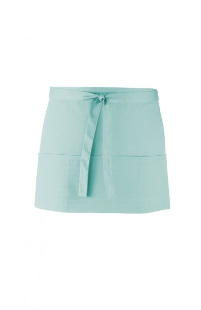 Colours 3 pocket apron - Aqua - Premier