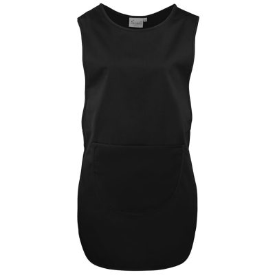 Long length pocket tabard - Black - Premier