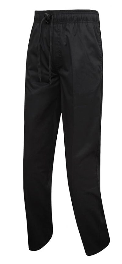 Chef's select slim leg trouser - Black - Premier