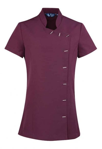 Orchid beauty and spa tunic - Aubergine - Premier