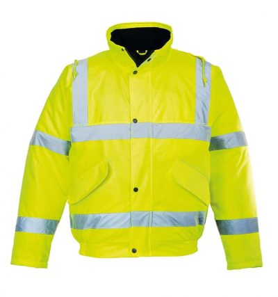 Hi-vis bomber jacket (S463/S266) - Yellow - Portwest