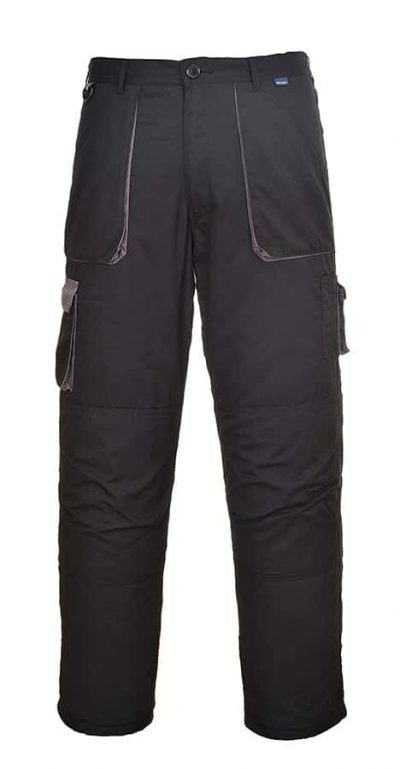 Contrast trousers (TX11) - Black/Grey - Portwest