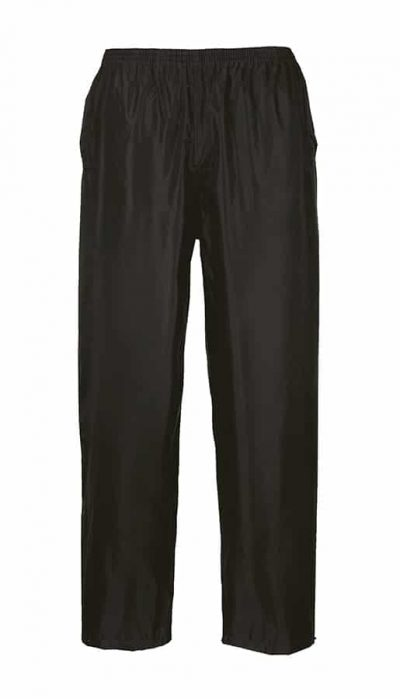 Classic rain trousers (S441) - Black - Portwest
