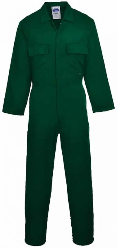 Euro work polycotton coverall (S999) - Bottle - Portwest