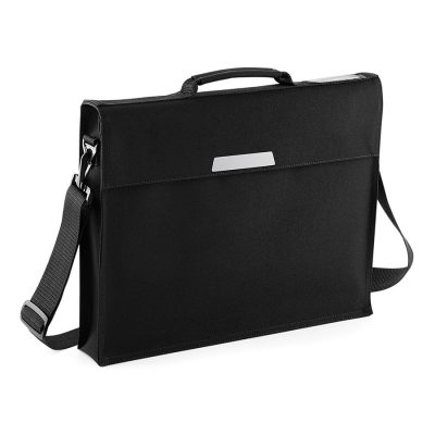 Academy book bag with shoulder strap - Black - Quadra