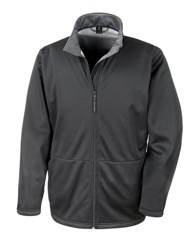Core softshell jacket - Black - Result Core