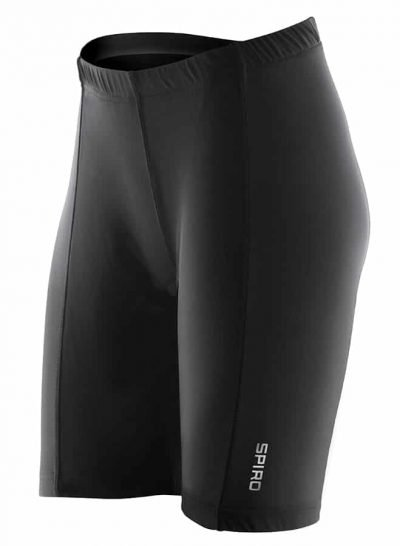Women's padded bikewear shorts - Black - Spiro